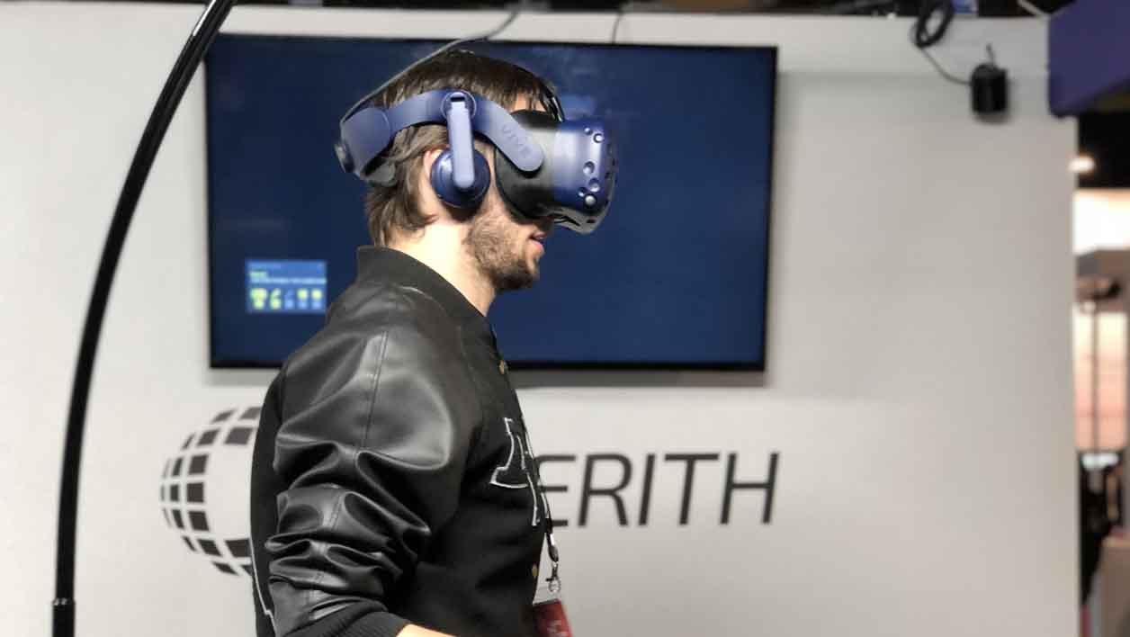 Cyberith est une start-up autrichienne.