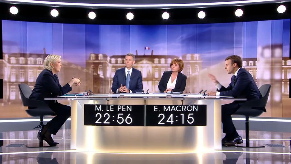 Débat présidentielle 2017 : Emmanuel Macron n'était pas à Bercy lors de la vente de SFR