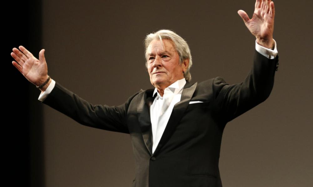 Alain Delon a été récompensé par une Palme d'or d'honneur à Cannes.