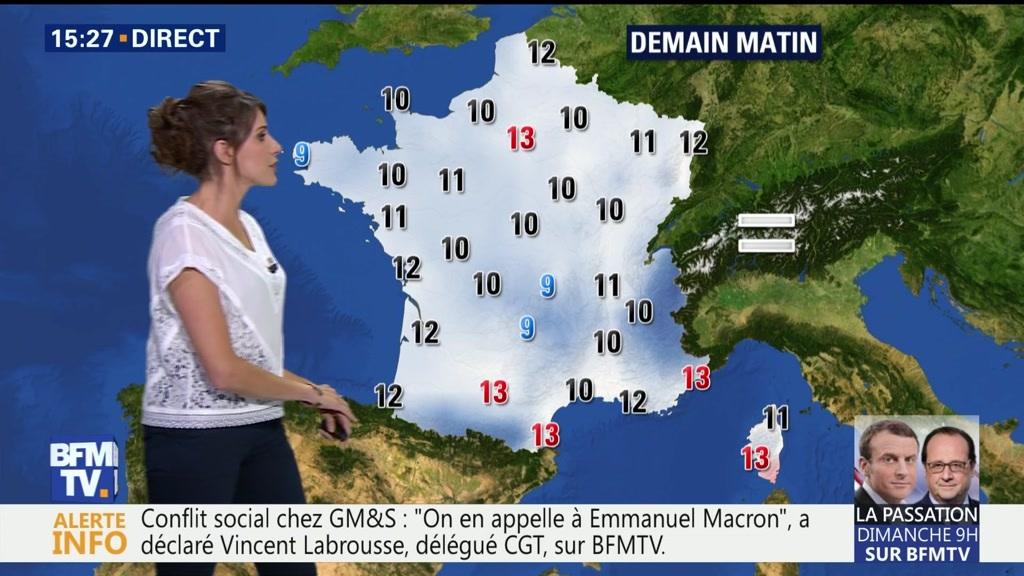 Les prévisions du jeudi 11 mai — Météo en France