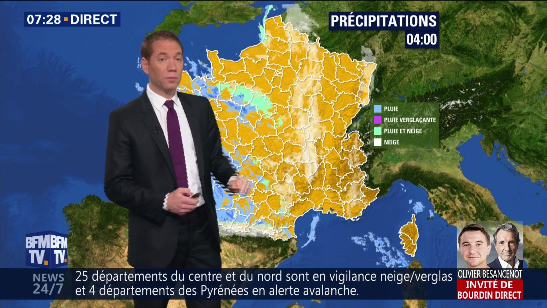En VIDEO - La météo de ce mercredi 23 janvier 2019