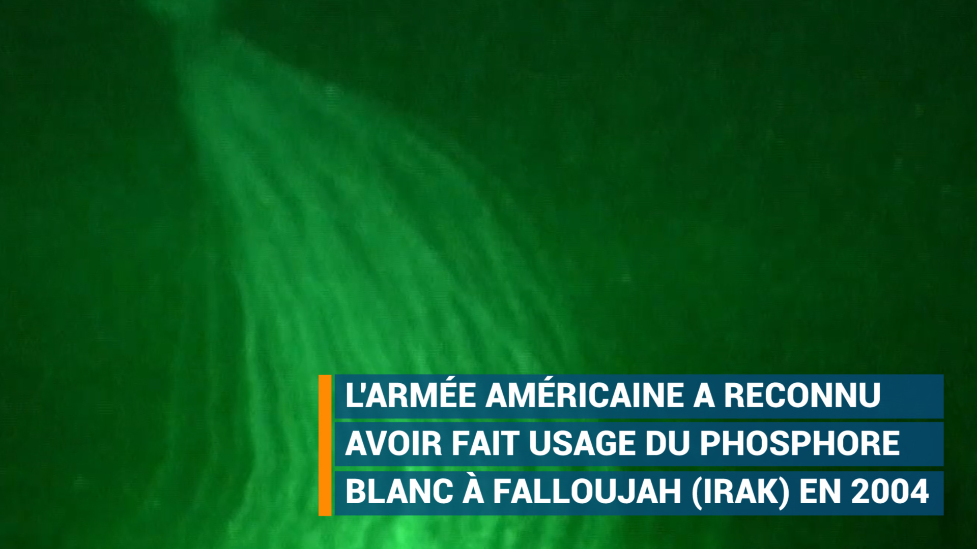 HRW prévient la coalition internationale anti-EI sur le phosphore blanc