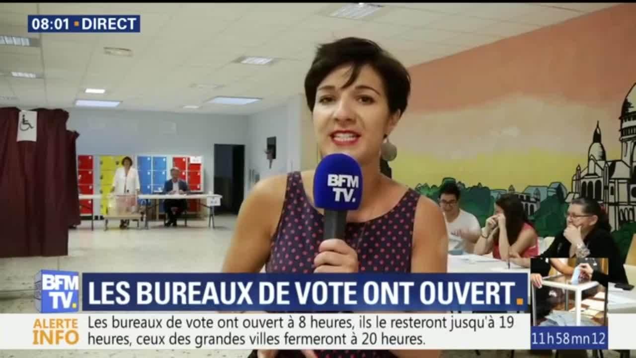 Ouverture des bureaux de vote pour le second tour — Législatives