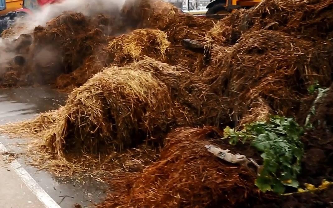 Le cambrioleur débusqué sous un tas de fumier — Dordogne/Lot-et-Garonne