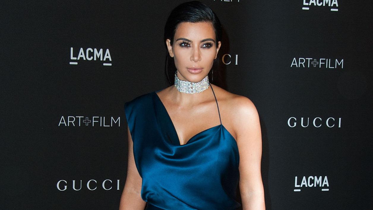 Kim Kardashian le 2 novembre 2014 à Paris