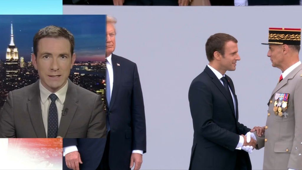 Emmanuel Macron invité à la Maison-Blanche par Donald Trump