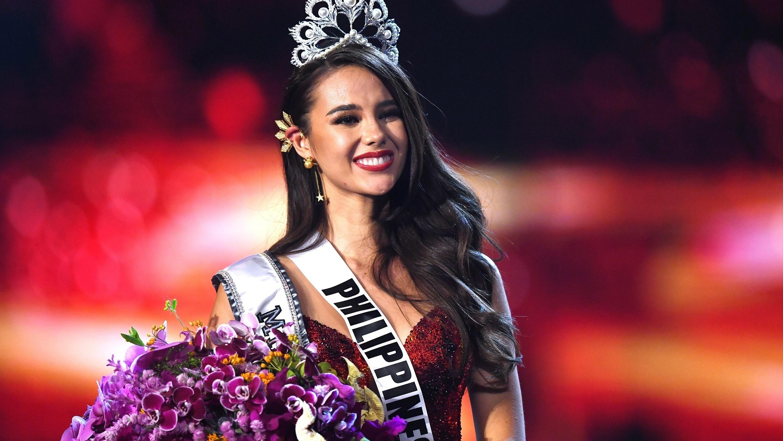 Catriona Gray est la nouvelle Miss Univers