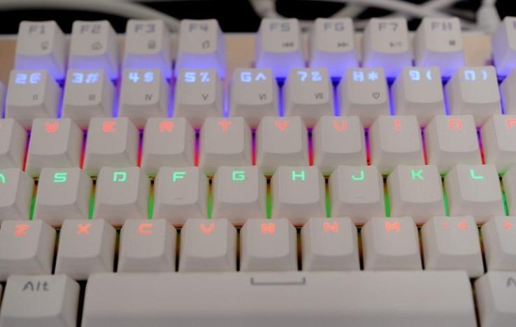 Clavier ordinateur QWERTY raccourcis clavier