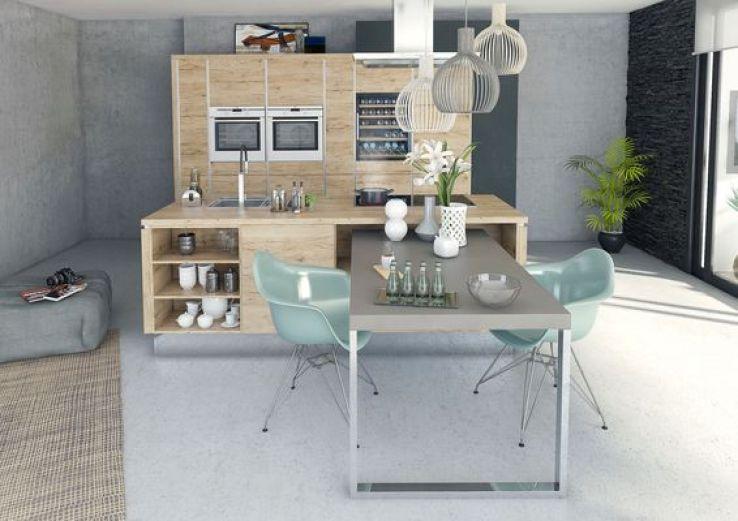 on craque pour ces cuisines en bois sfr news. Black Bedroom Furniture Sets. Home Design Ideas