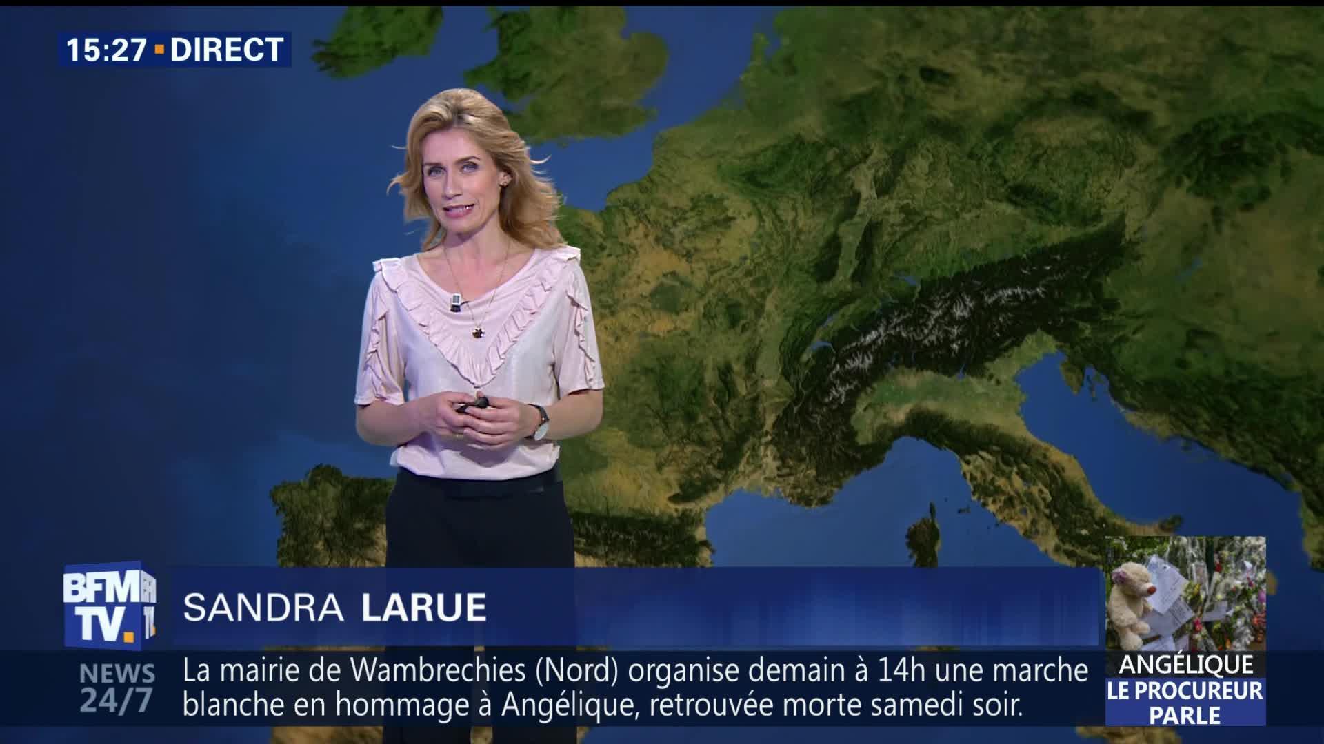 Neige et ressenti glacial en Normandie ce matin