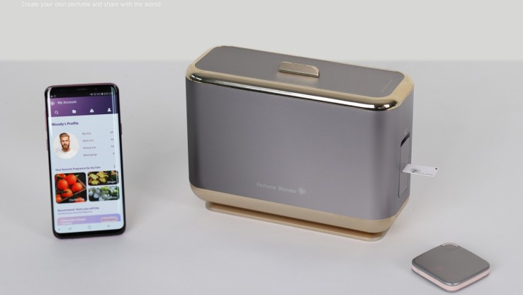 Le Perfume Blender de Samsung.