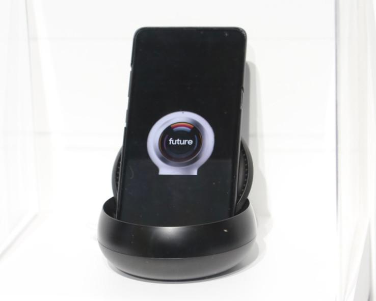 Le prototype de smartphone 5G de Samsung.