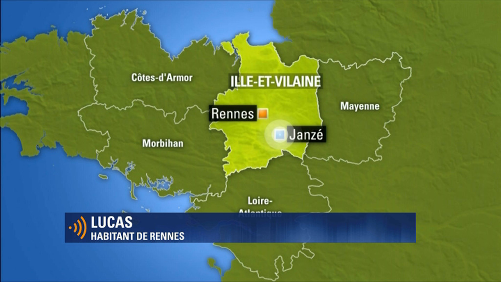 Un tremblement de terre de 3,9 ressenti à Rennes — Bretagne