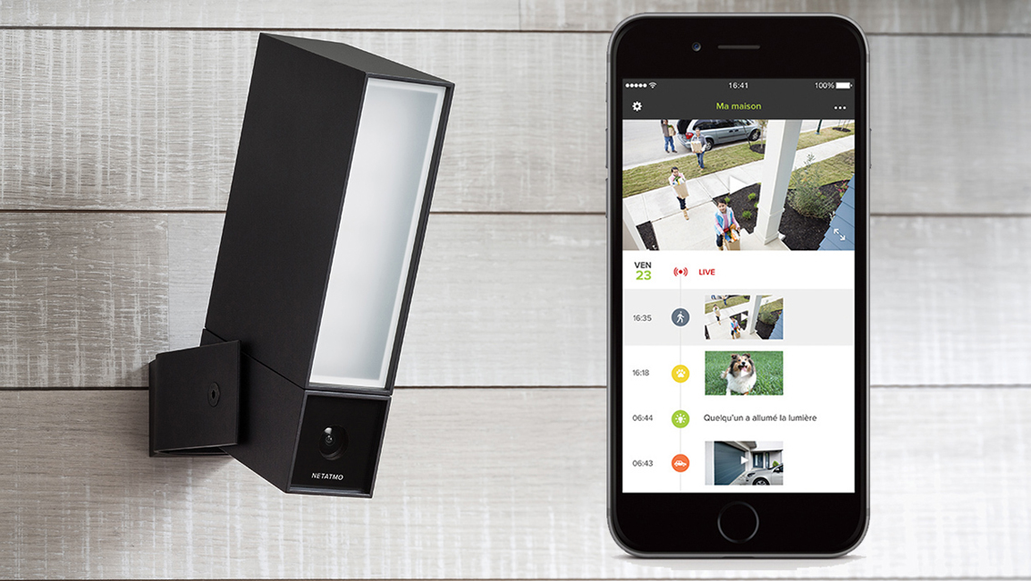 netatmo presence la cam ra de surveillance qui vous. Black Bedroom Furniture Sets. Home Design Ideas