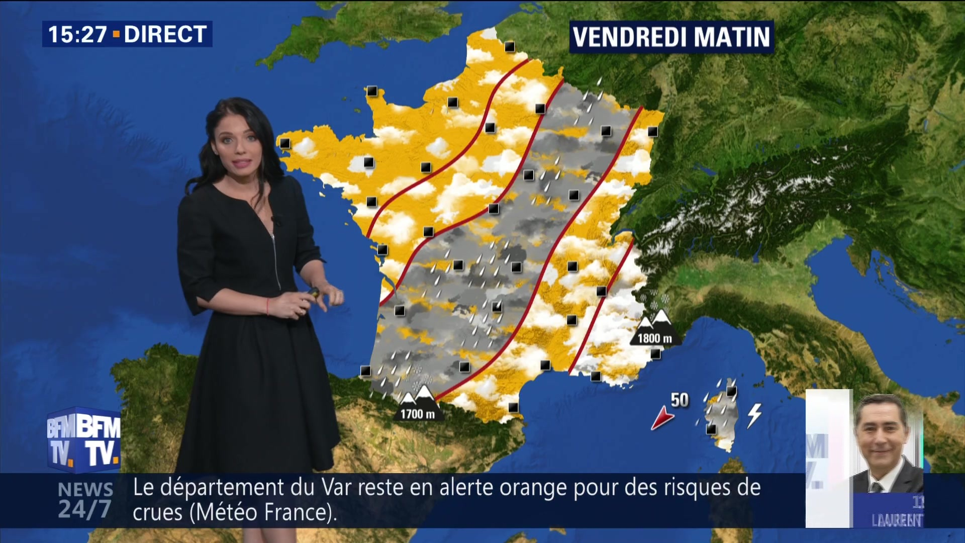 EN VIDEO - La météo du vendredi 2 novembre
