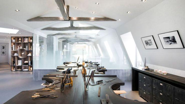 l 39 atelier haute joaillerie de messika sublime le diamant sfr news. Black Bedroom Furniture Sets. Home Design Ideas