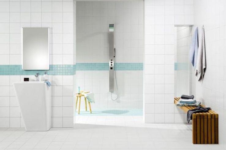 un nouveau rev tement pour ma douche l 39 italienne sfr news. Black Bedroom Furniture Sets. Home Design Ideas
