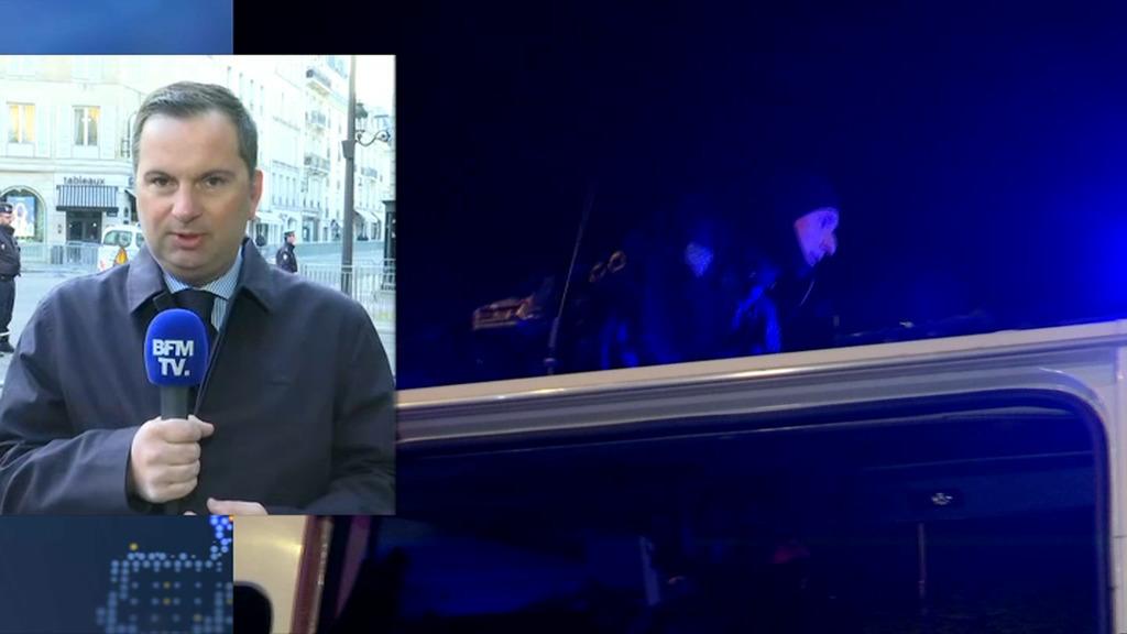 Réactions après l'attentat — Champs Elysées