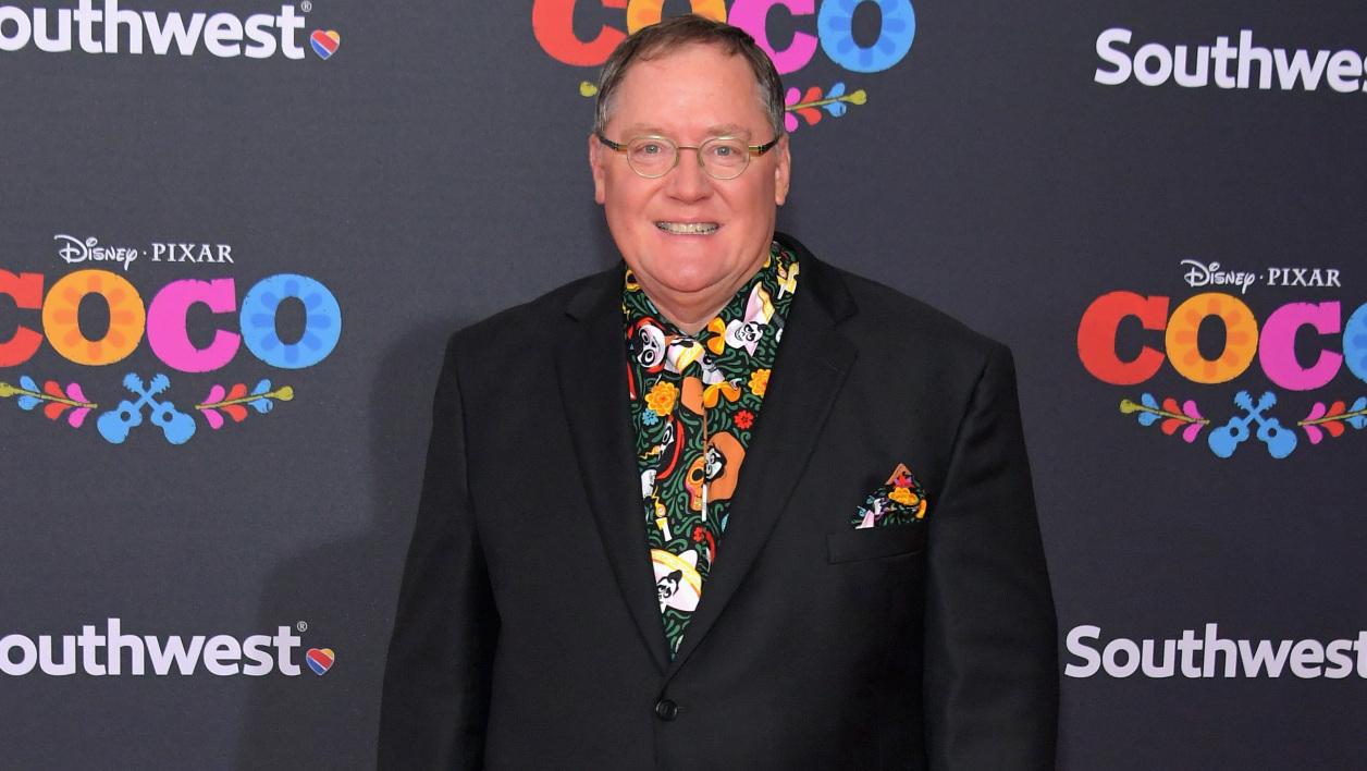 John Lasseter à l'avant-première de Coco