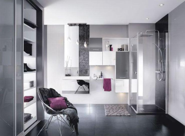 Modle Ibiza Faade Miroir Argent Poignet Infini Chrom Brillant Plan De Toilette Poil Nabu 4 259 Euros Mobalpa