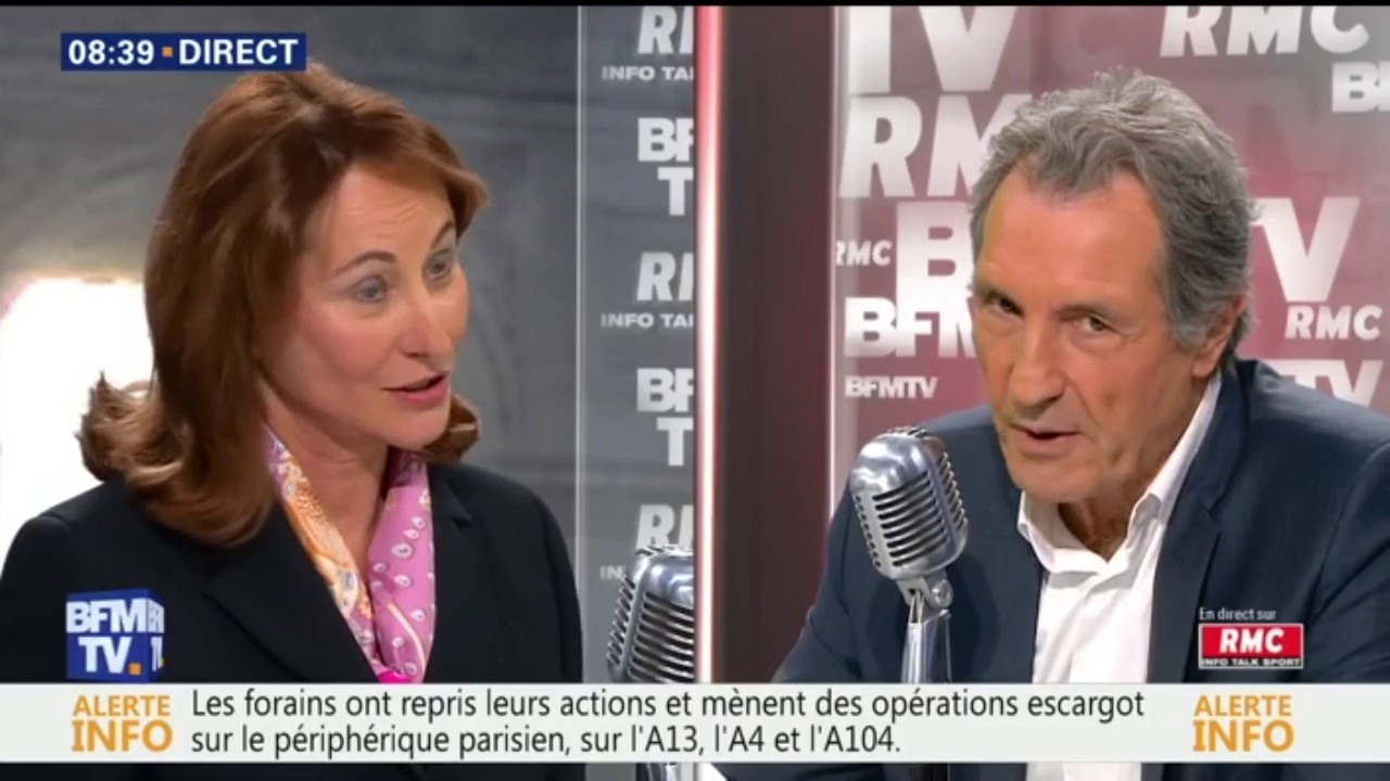 Nicolas Hulot répond sèchement à Ségolène Royal — Glyphosate