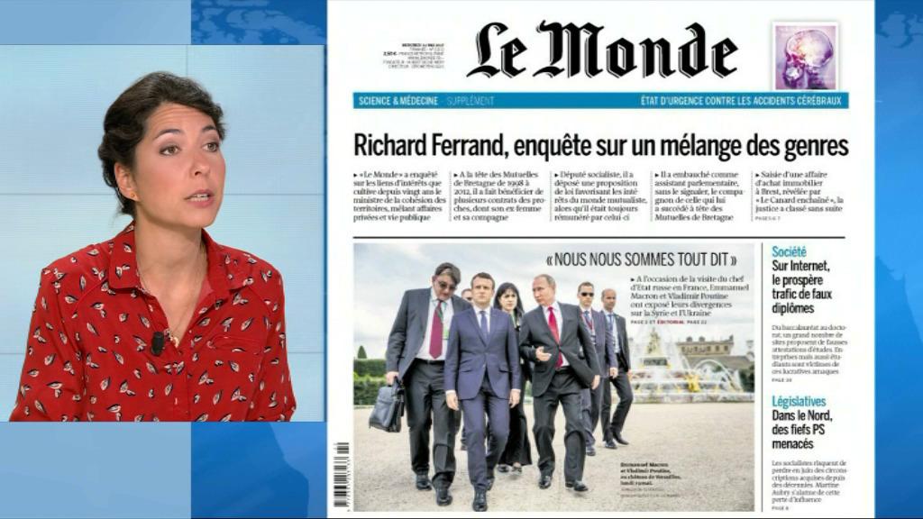 Un document troublant publié par Le Canard Enchaîné — Affaire Ferrand