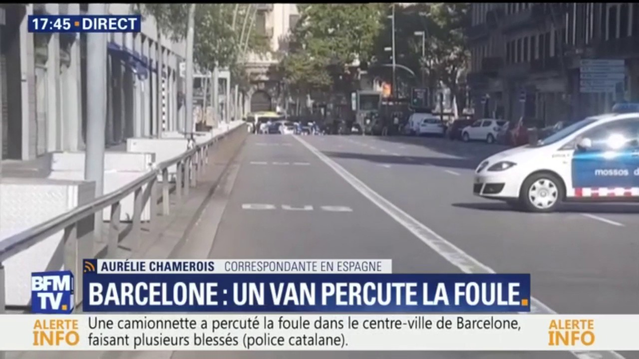 26 Français parmi les blessés — Attentat de Barcelone