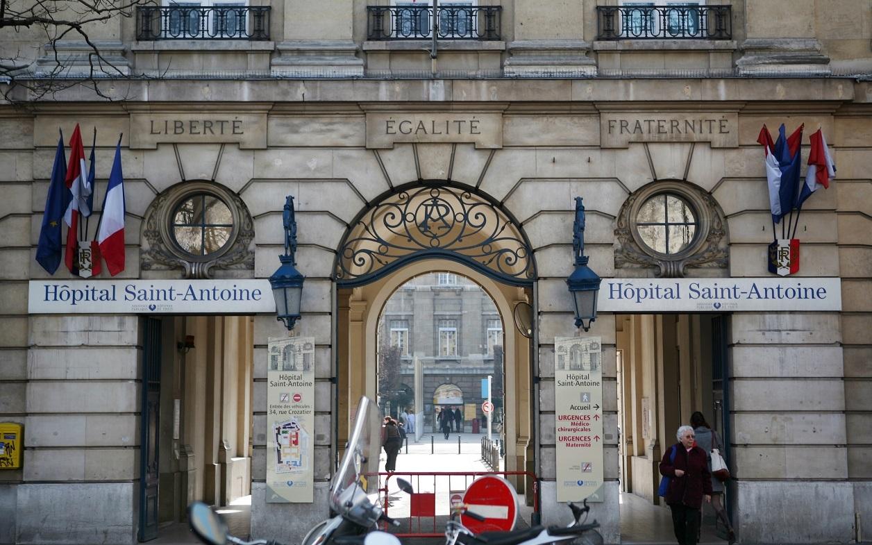 L'hôpital Saint-Antoine, à Paris