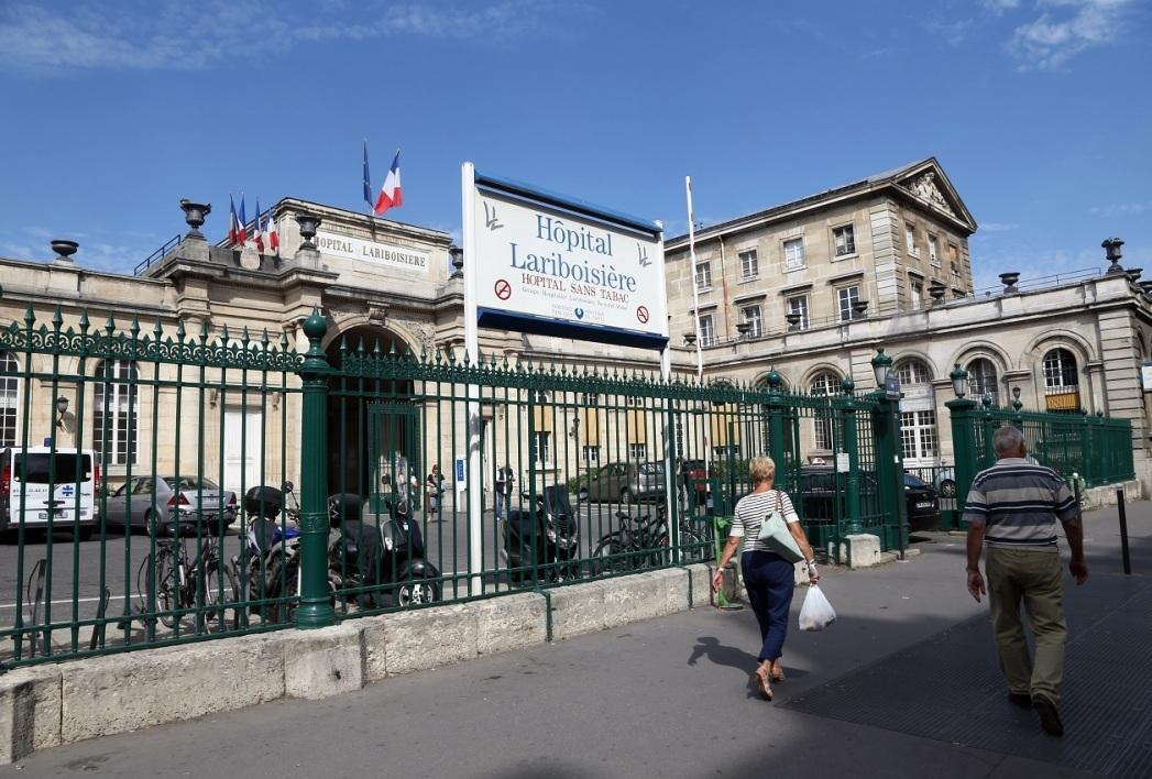 L'hôpital Lariboisière (10e arrondissement)