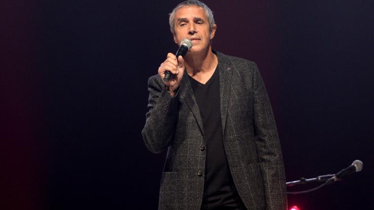 Julien Clerc sur scène en avril 2017