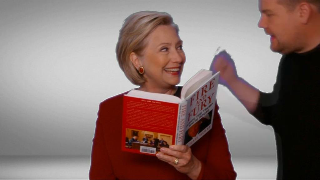 Hillary Clinton se moque de Donald Trump — Grammy Awards
