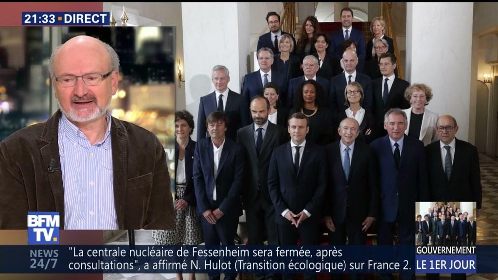 Voici à quoi a ressemblé le premier conseil des ministres — Macron-Philippe