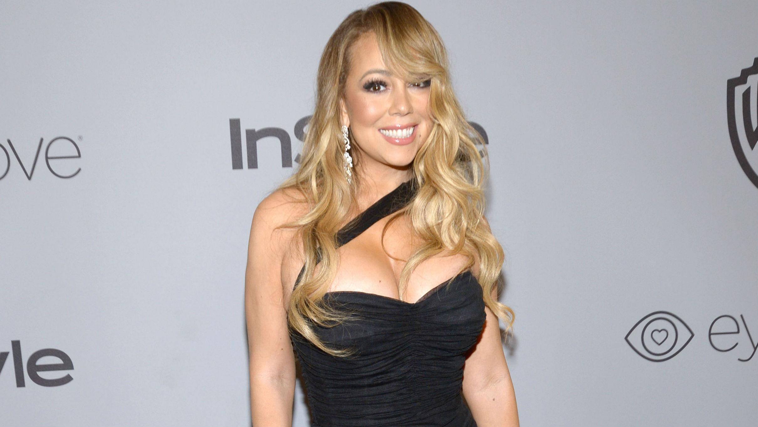 Mariah Carey à Beverly Hills en 2018