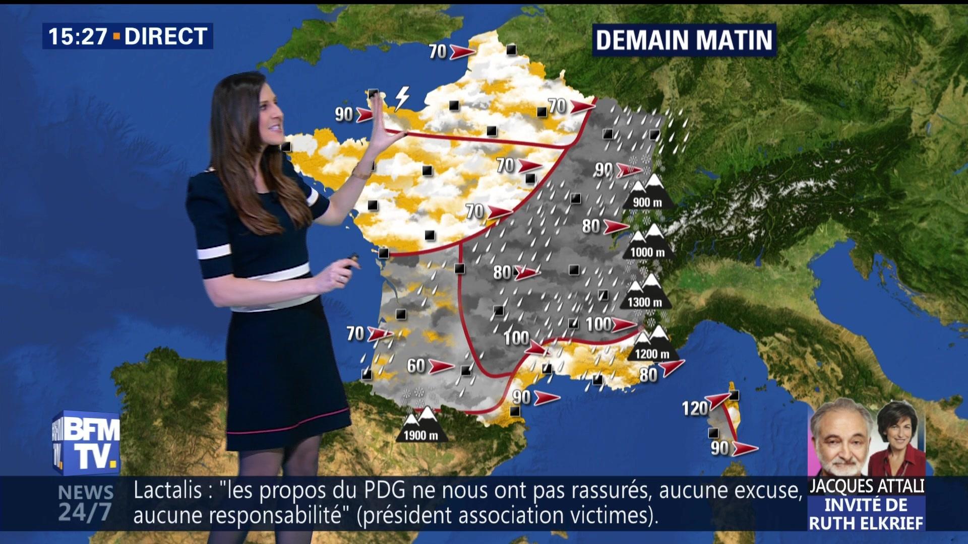 Alerte orange aux vents violents en Corse — Météo
