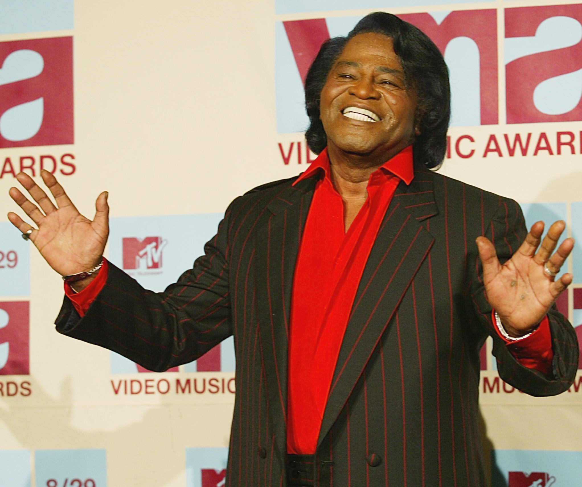 James Brown en 2002