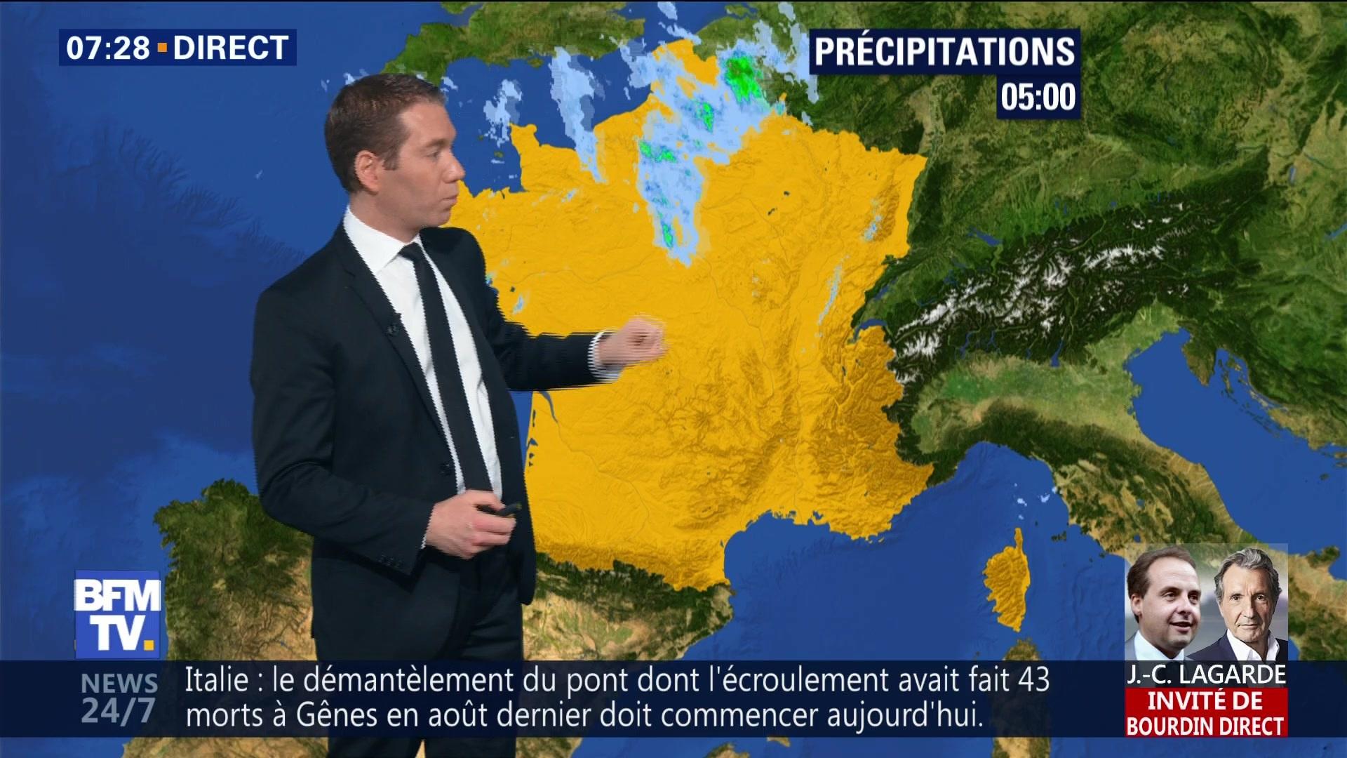 EN VIDEO - La météo de ce vendredi 8 février 2019