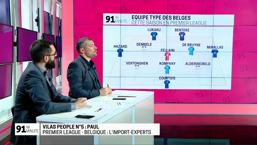 91e belgique