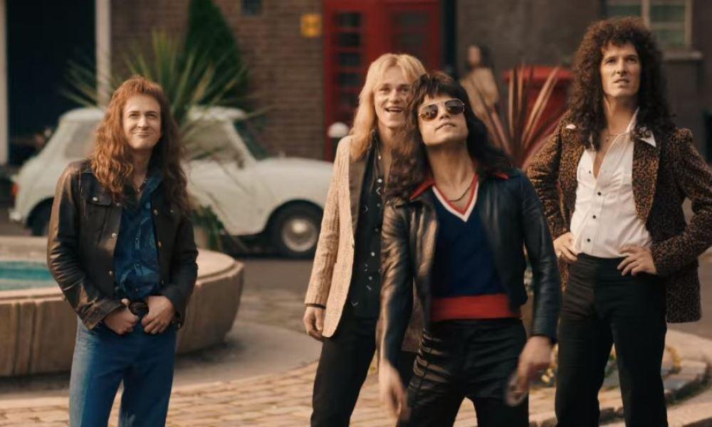 Queen dans le film Bohemian Rhapsody