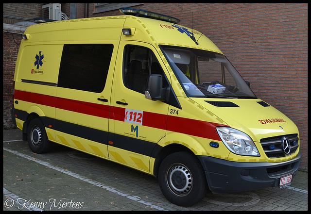Belgique: une patiente abandonnée dans une ambulance