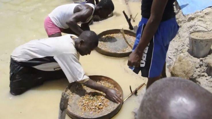 Découverte du plus gros diamant depuis 1972 — Sierra Leone