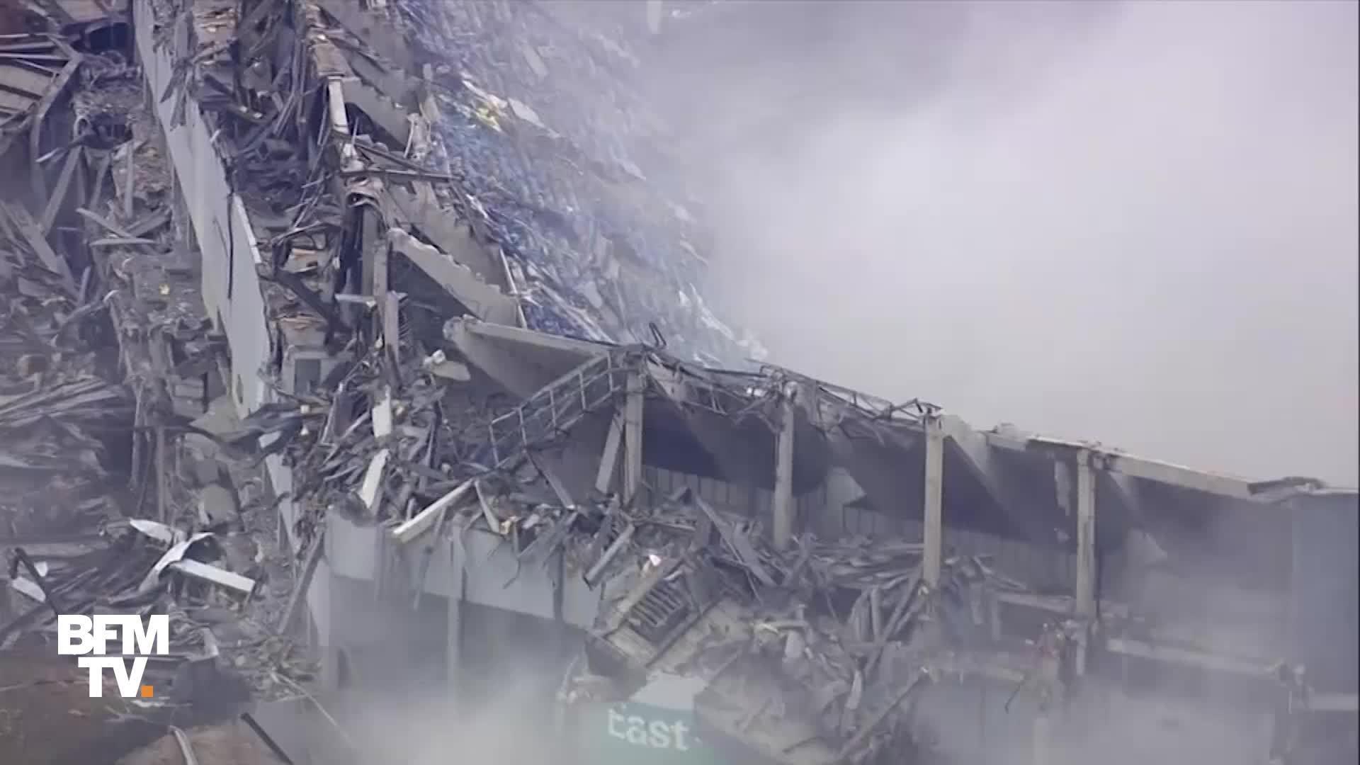 EN VIDEO - À Detroit, la destruction du Silverdome a réussi