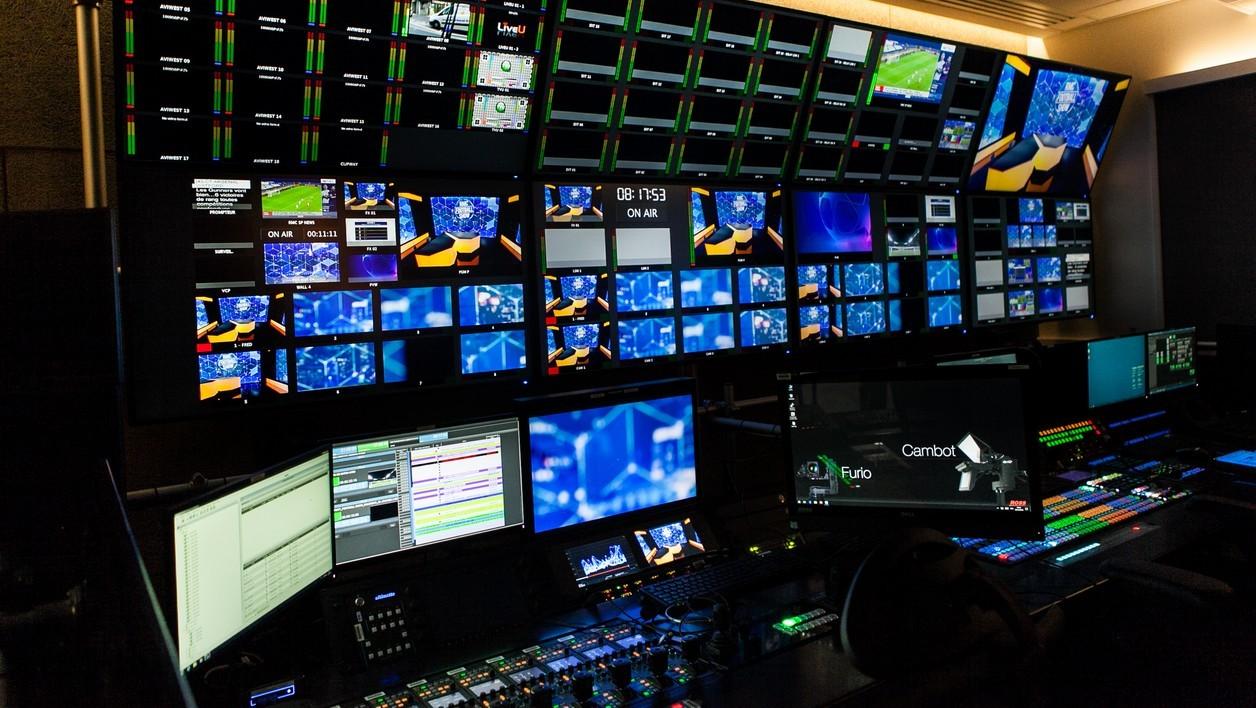 Les studios de BFMTV.