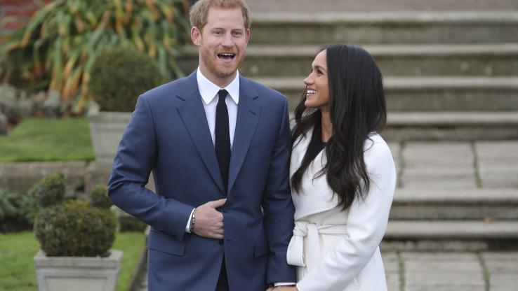 Le prince Harry et Meghan Markle ont annoncé leur mariage, le 27 novembre 2017, à Kensington Palace à Londres