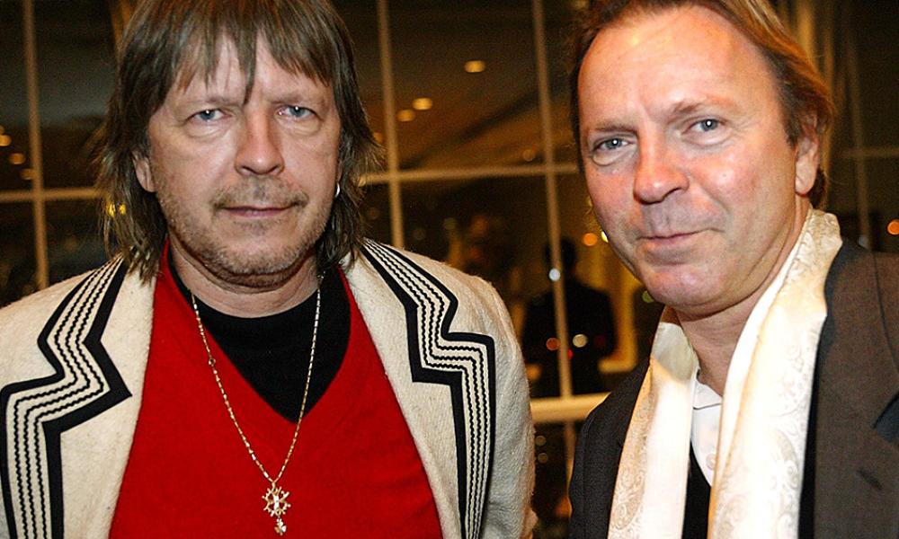 Renaud avec son frère Thierry Séchan en 2004