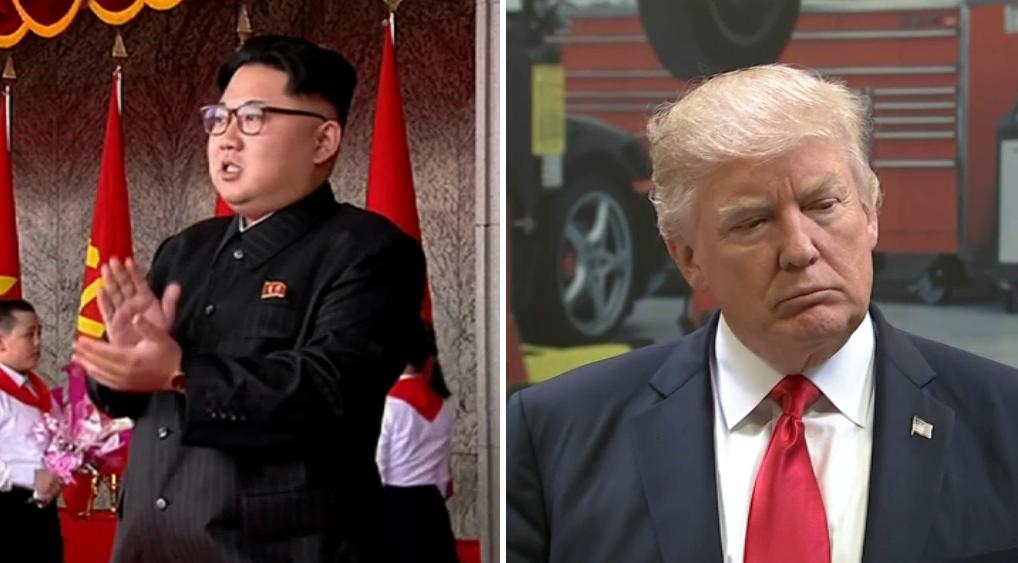 Menace de riposte nucléaire de la Corée du Nord