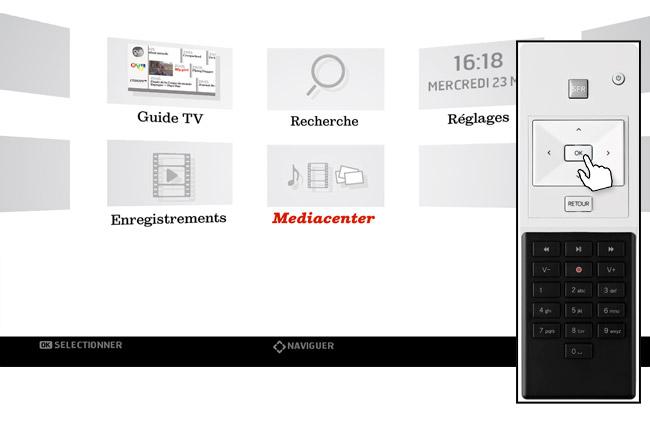 mediacenter sfr evolution