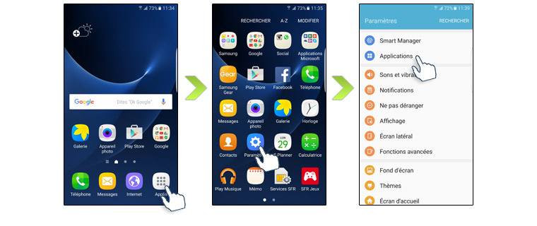 Comment G 233 Rer Les Applications Sur Votre Samsung Galaxy J3