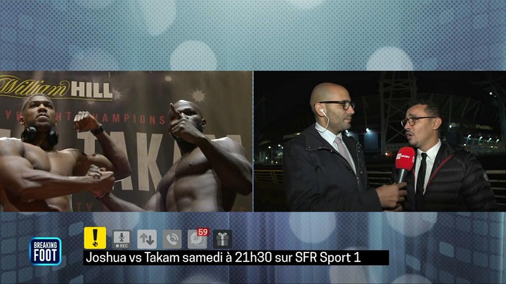 Ibrahimovic avait choisi son camp, mais — Combat Joshua-Takam