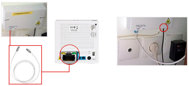 Comment installer votre media converter axione - Comment installer la fibre ...