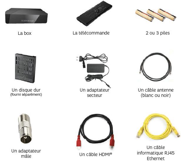 Descriptif Et Contenu Du Pack Box Thd 4k De Sfr